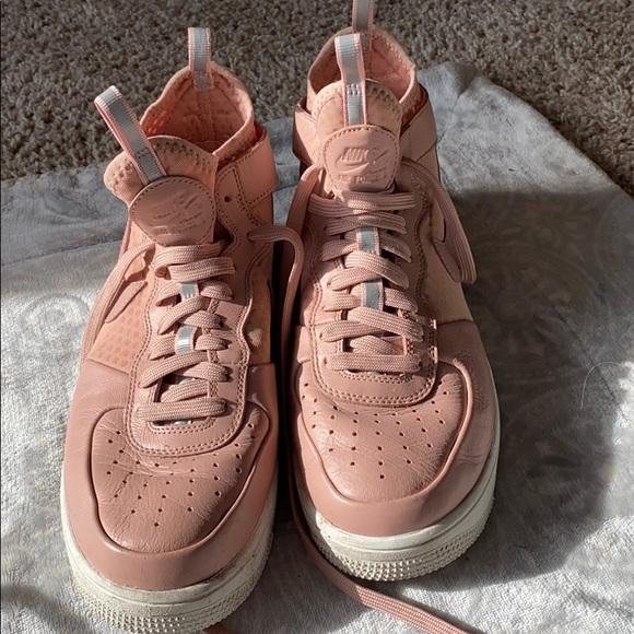 Nike Shoes | Pink Nike High Top Air